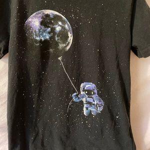 OLD NAVY Boys Size M Astronaut T-Shirt